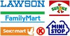 【コンビニ払い】ローソン、ファミリーマート、ミニストップ、サークルK、サンクス、セイコーマート