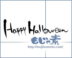 筆文字素材:Happy Halloween [14450]