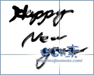 筆文字素材:Happy-New-year [14151]